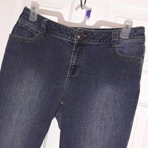 Lane Bryant Jeans - Lane Bryant Denim Cropped Blue Jeans Size 12